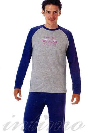 Пижама мужская, бавовна NAI, Італія 10090 фото