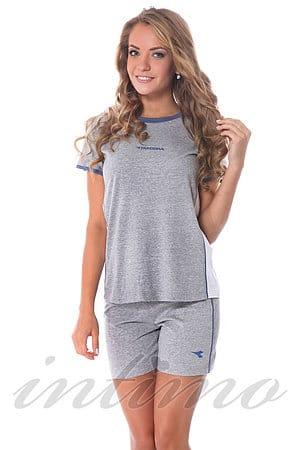 Комплект: футболка та шортики Diadora, Італія 62188 фото