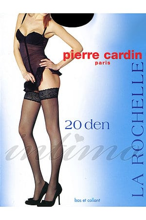 Чулки на резинке Pierre Cardin, Италия LA Rochelle 20 фото