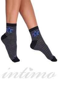 Женские носочки, хлопок, код 29916, арт PW604
