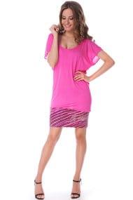 Трикотажное пляжное платье, 34346, код 34346, арт A468-A1C