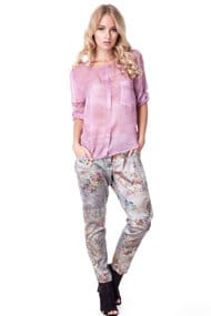 Костюм: блуза і штани, віскоза-бавовна, код 36060, арт 22411