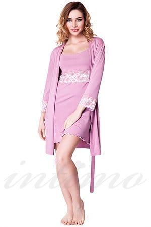 Комплект: халат и сорочка Fleri, Украина F50023 фото