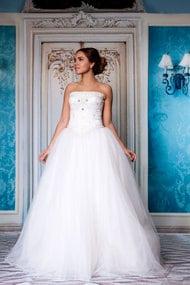 Свадебные платья из атласа, 41190, код 41190, арт Alyssa