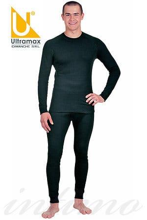 Чоловік комплект термобілизни, бавовна Ultramax U1131 фото