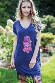 Домашнее платье, код 46489, арт LHD884A7
