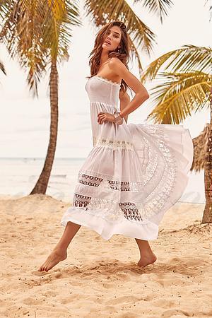 Пляжное платье, хлопок Iconique, Италия IC9-081 фото