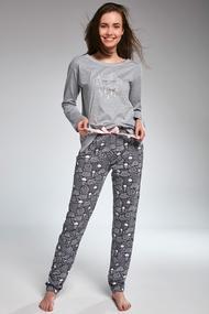 Пижама подростковая, хлопок, код 54582, арт 299-32