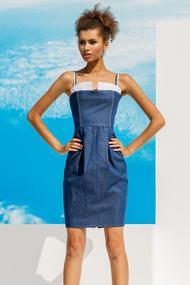 Коротка літня сукня, 55995, код 55995, арт 18012-Р