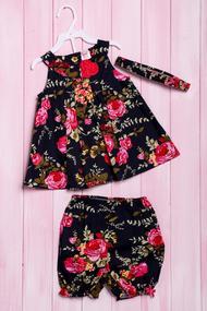 Комплект: Плаття і шортики, бавовна, код 56180, арт 213