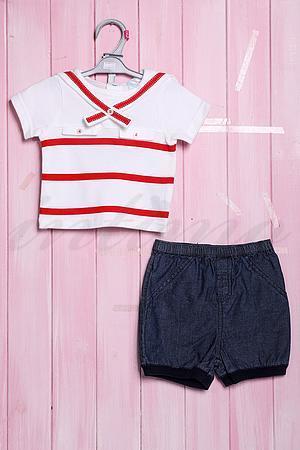 Костюмчик для девочки , хлопок Denny et Danny S14B-007 фото