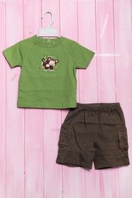 Костюмчик для мальчика: футболка и шортики, хлопок, код 56336, арт 401