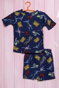 Летний костюм для мальчика: футболка и шортики, хлопок, код 56391, арт 87652