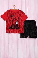 Летний костюм для мальчика: футболка и шортики, хлопок Bugle boy 56398