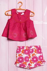 Комплект: Плаття і шортики, бавовна, код 56402, арт 29000