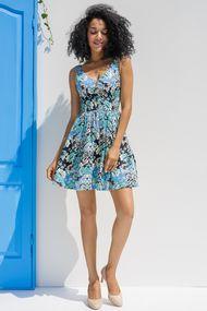 Кольорові сукні, 56453, код 56453, арт 19012-Р