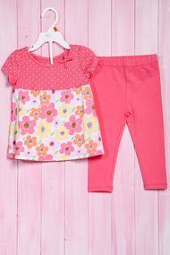 Комплект: Плаття і штани, бавовна, код 56499, арт 206