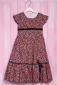 Нарядное платье для девочки с пышной юбкой, хлопок, код 56602, арт 54163