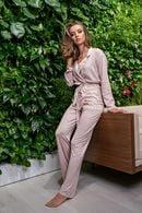 Комплект: халат та брюки Lormar 59517