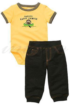 Товар с дефектом: костюмчик для мальчика , хлопок Carter's, США 118 фото