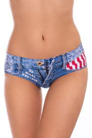 Трусики слип, код 61493, арт Jeans american-slip