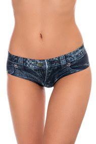 Трусики слип, код 61495, арт Jeans dark-slip