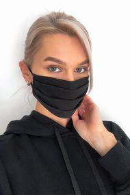 Защитная хлопковая двухслойная маска с карманом для дополнительной фильтрации, код 62113, арт М22