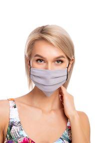 Защитная хлопковая двухслойная маска с карманом для дополнительной фильтрации, код 62176, арт М22-4