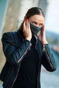 Защитная двухслойная маска с карманом для дополнительной фильтрации, код 62200, арт JB-007