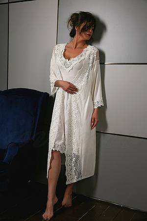 Комплект: халат и сорочка Effetto, Италия E10601C-10602C фото