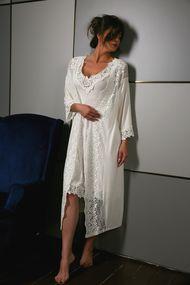 Комплект: халат и сорочка, код 62239, арт E10601C-10602C
