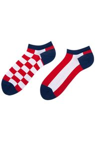 Женские носочки, хлопок, код 62241, арт Checker Short