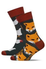 Чоловічі шкарпетки, бавовна, код 62287, арт Wilde
