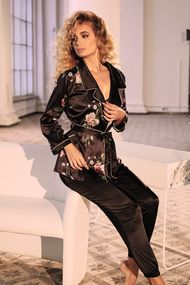 Комплект: блуза та брюки, код 63146, арт 8165-6219-5