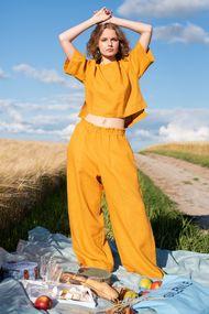 Комплект: блуза та брюки, код 63245, арт Sil-008