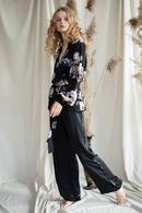 Комплект: халат и брюки Silence 63252