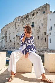 Белые брюки, шорты, комбинезоны, 63632, код 63632, арт DB21-012