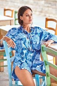 Лляні сукні, туніки, халати, 63676, код 63676, арт DB21-039