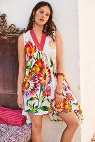 Шифоновое пляжное платье, 63681, код 63681, арт DB21-074