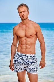 Мужские пляжные шорты с карманами, 63726, код 63726, арт DM21-07