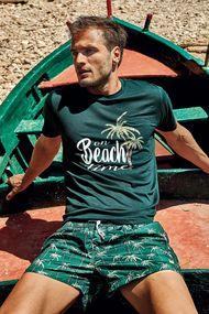 Зеленые мужские футболки, 63730, код 63730, арт DM21-17