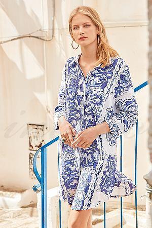 Платье-рубашка Iconique, Италия IC21-079 фото
