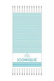 Пляжний рушник, код 63886, арт IC21-Towel