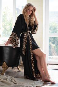 Жіночий літній халат, 64115, код 64115, арт Sil-038