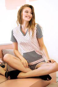 Белая пижама, 64237, код 64237, арт 6211-4