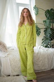 Комплект: блуза і штани, код 64670, арт Sil-029