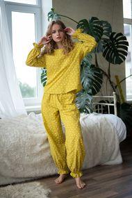 Комплект: блуза и брюки, код 64671, арт Sil-030