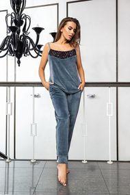 Комплект: топ и брюки, код 64869, арт E03113