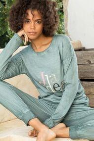 Пижама с надписью, 65105, код 65105, арт 3116
