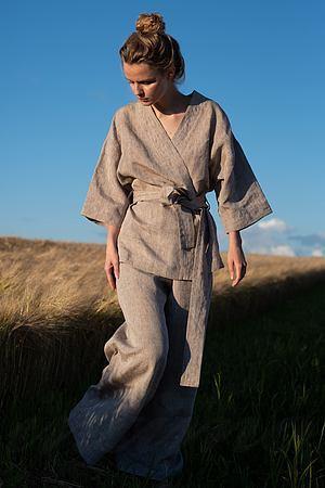 Комплект: халат и брюки Silence, Украина Sil-001 фото